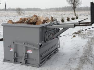 2 yd EZ Load Firewood Hopper