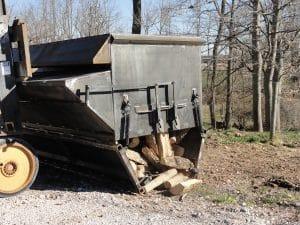 7 yd EZ Load Firewood Hopper