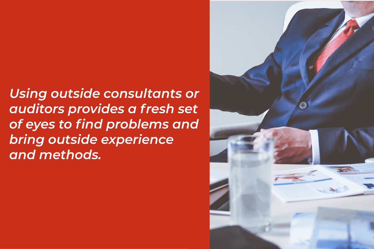 using outside consultants