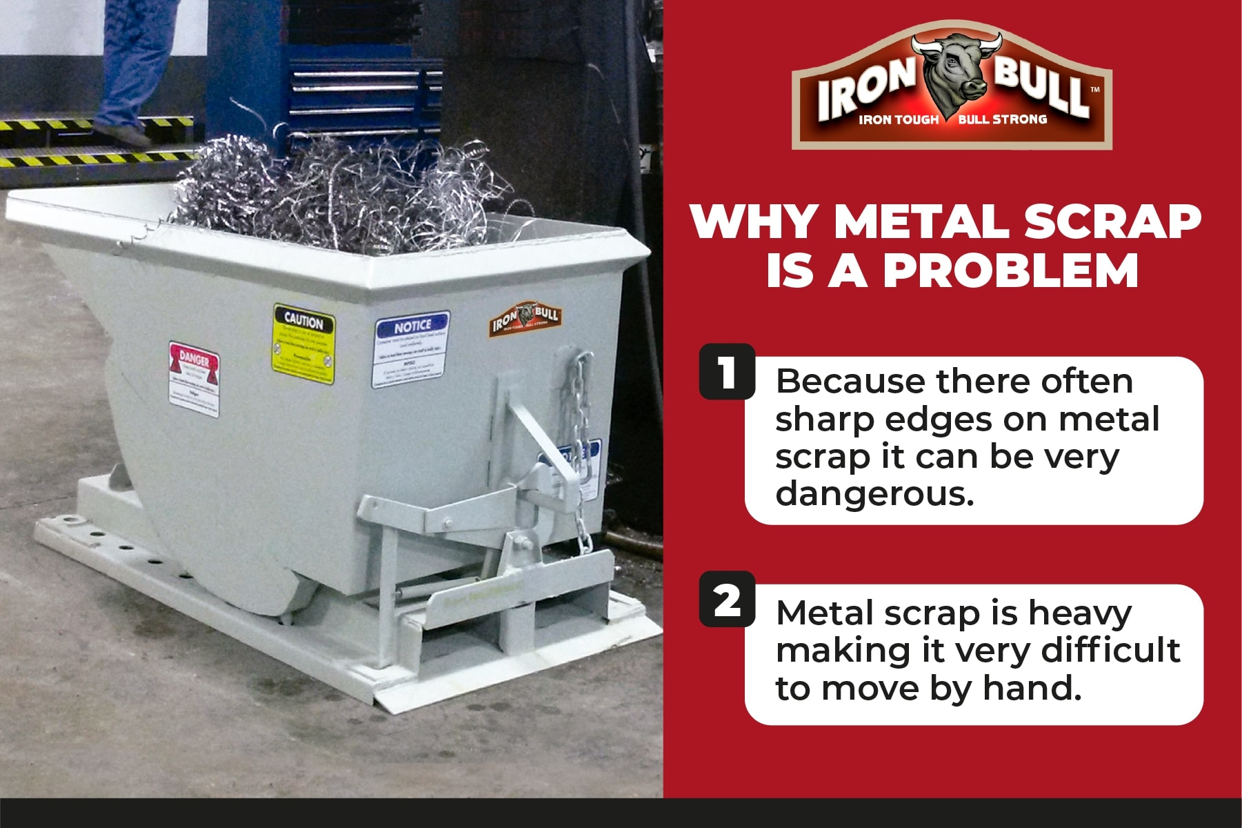 Why metal scrap is a problem